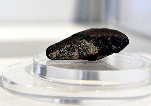 學者在墜落地球的隕石上發現生命跡象