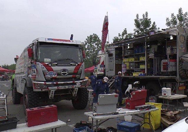 車手們將於7月22日抵達比賽終點西安。