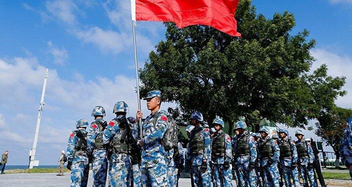 中國海軍陸戰隊在「海上登陸」競賽中獲勝