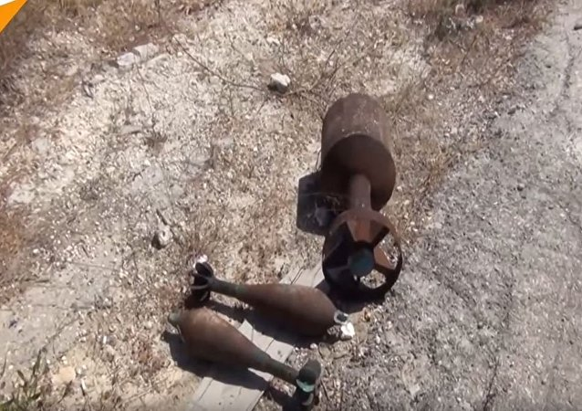 叙军正在拉塔基亚难以靠近的地区排雷