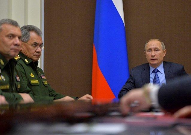 报告:2017年俄罗斯将增加武器供应
