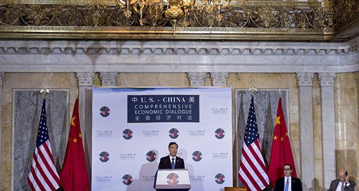 中美未协商出减少贸易赤字方法