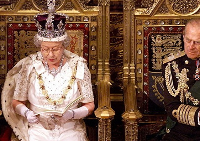英國女王伊麗莎白二世和菲利普親王