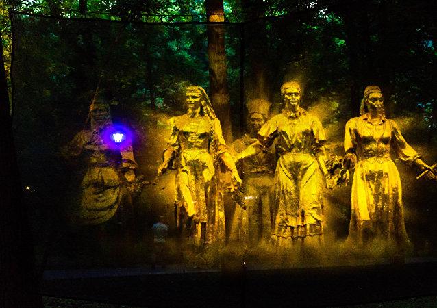 全俄國民經濟成就展覽館等待您前去觀看「魔幻森林」