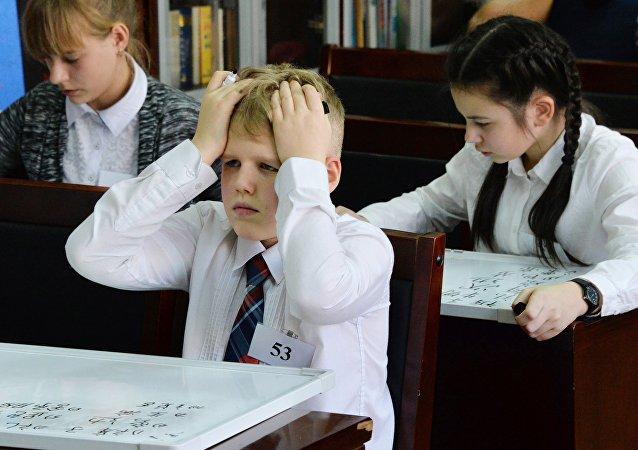 超过70%的俄罗斯青少年承认不喜欢上学