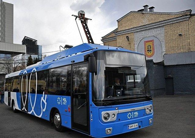 莫斯科市长:三年后莫斯科将改用电动公交