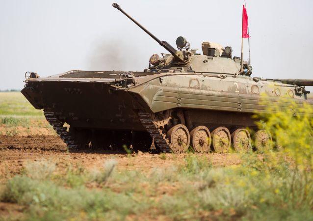 俄步兵战车将在中国境内的军事比赛中展示性能