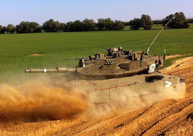 以色列梅卡瓦Mk IV M 坦克