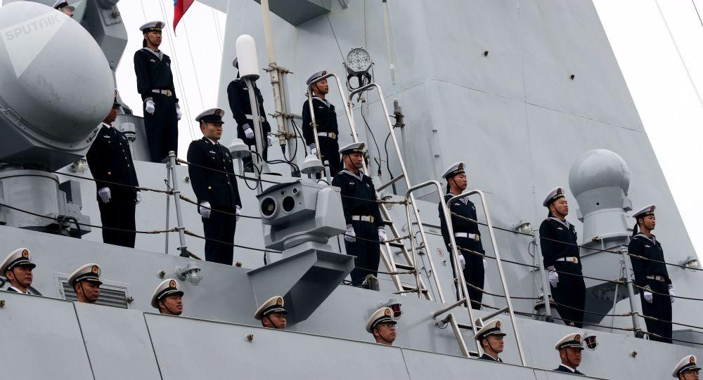 中国一年后将能挑战美国海军优势