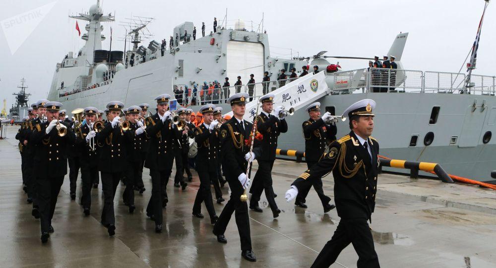 西方如何看待俄中海上联演