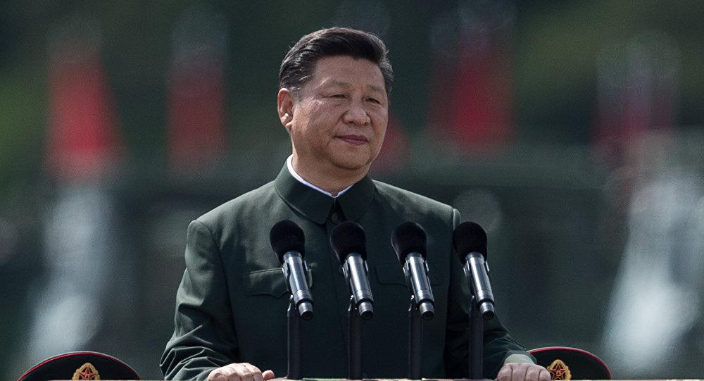 華媒:習近平南中國海海域進行建國以來規模最大海上閱兵併發表講話