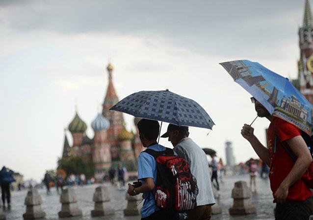 2017年莫斯科和聖彼得堡接待逾40萬中國遊客