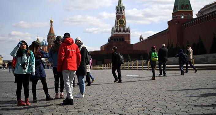中国赴俄游客消费增多
