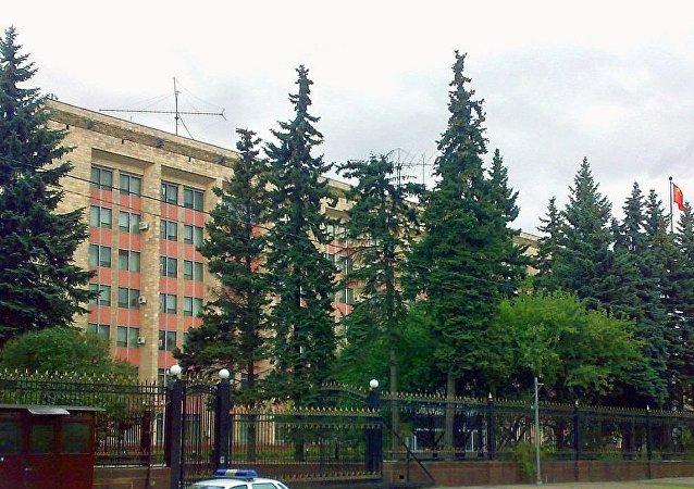 中國駐俄羅斯大使館