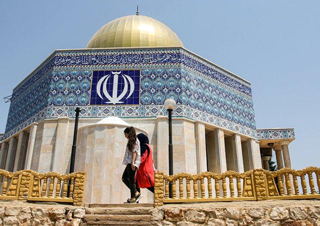 以色列位於聖殿山上的圓頂清真寺