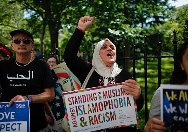 超70%美国穆斯林表示国内歧视程度高