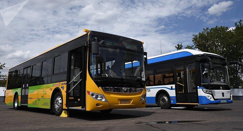在莫斯科将出现第一批电动公交