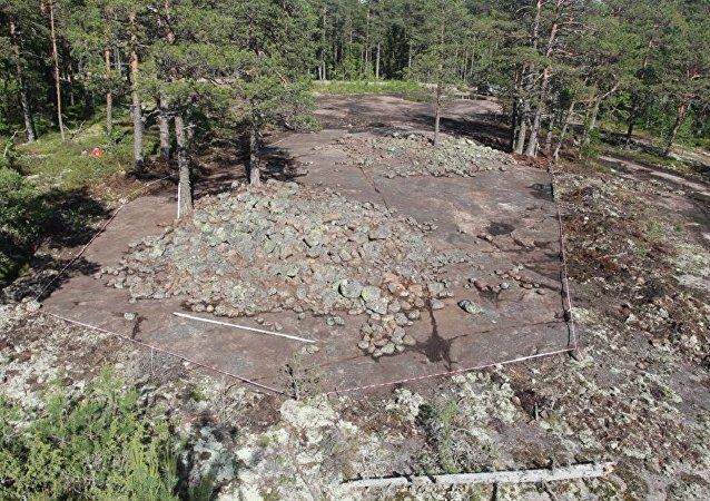 考古學家在維堡地下發現青銅時代墓葬群