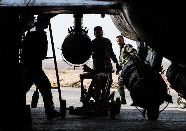 """美主导国际联盟要求盟友在叙集中打击""""伊斯兰国""""而非叙政府"""