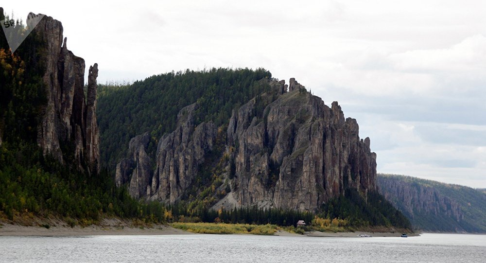 勒拿河风蚀柱自然公园