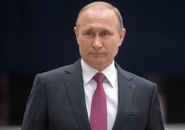 普京致电祝贺德国统一日 强调应进一步发展俄德关系