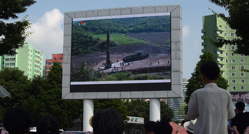 日NHK電視台攝像機或拍下朝鮮導彈試驗