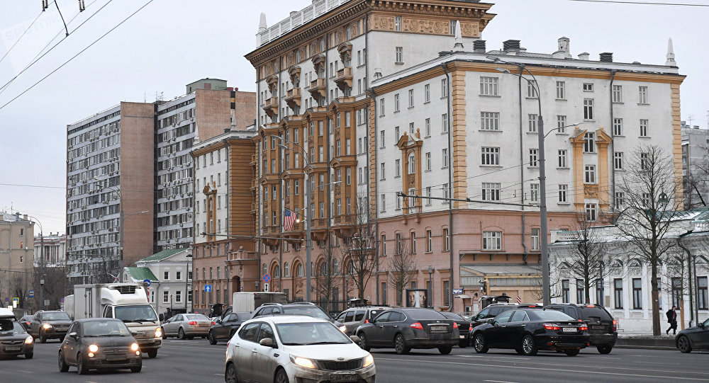 美國駐俄大使館