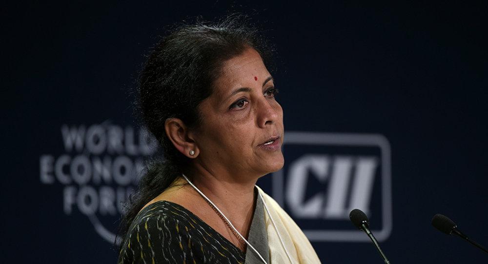 印度商業與工業部長希塔拉曼