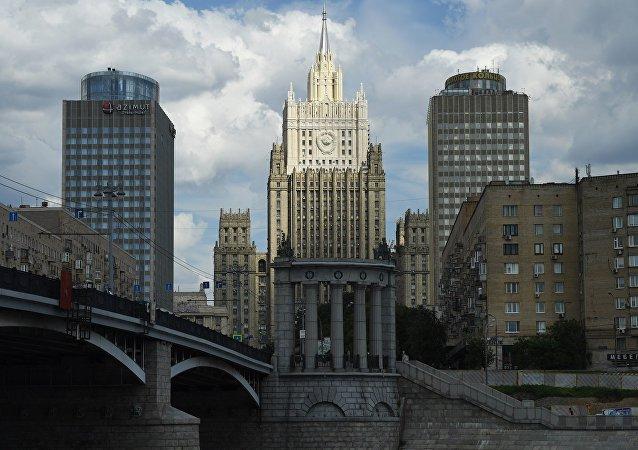 Здание Министерства иностранных дел РФ Москвы