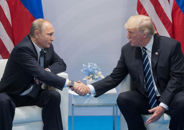特朗普期待與普京會面