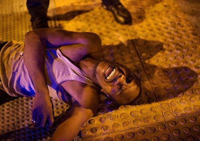 非法移民在馬德里臨時拘留中心製造暴亂