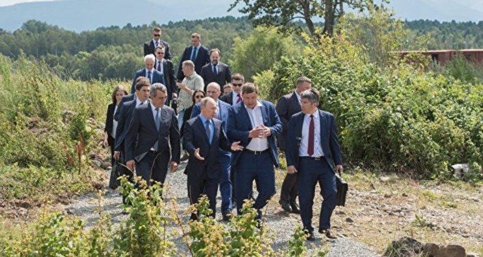 普京指示研究從布里亞特向蒙供電問題