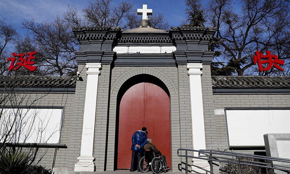 宣武门天主堂(南堂)——北京最古老的教堂