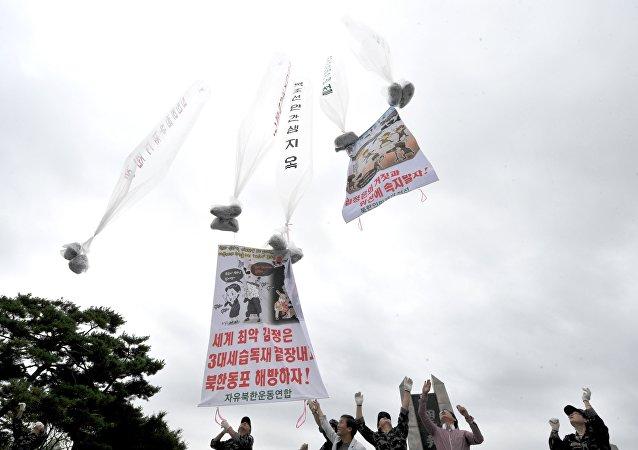 韓國總統欲停止向朝鮮境內投放傳單