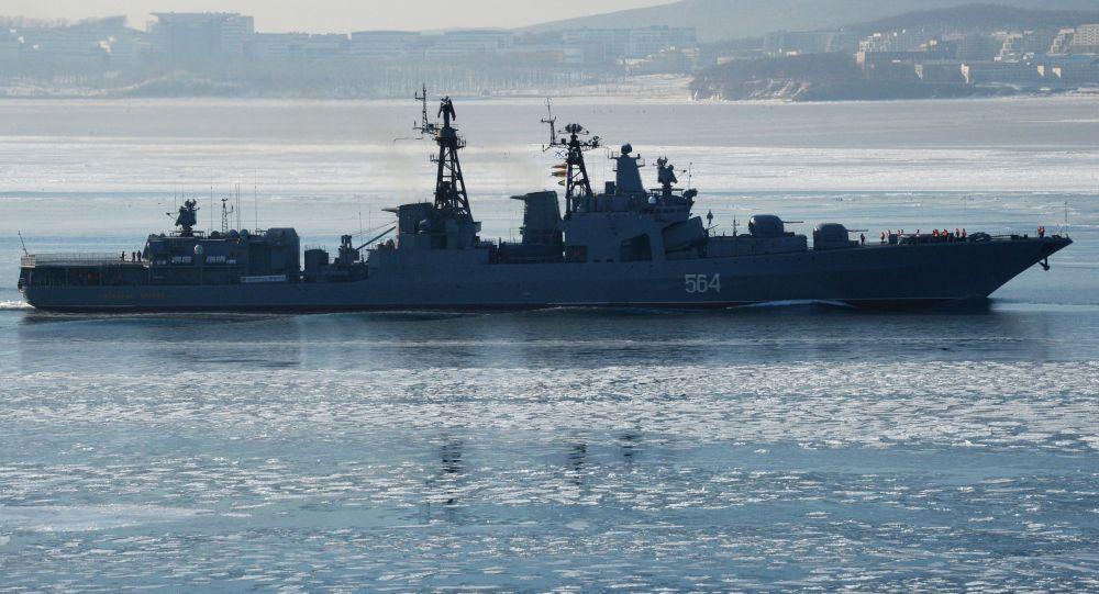 俄太平洋舰队2027年前应接装70多艘舰船