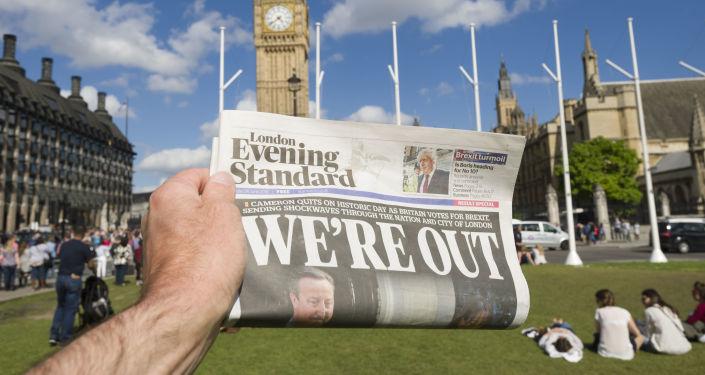 民调:大部分英国人对该国政府进行脱欧谈判的方式感到不满