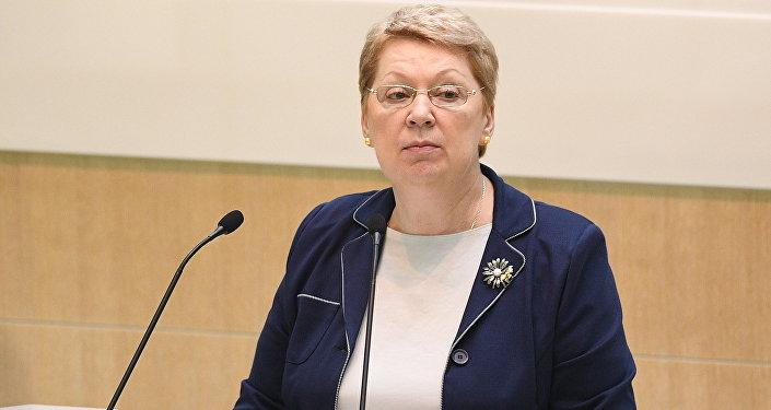 俄教育科学部部长奥尔加•瓦西里耶娃