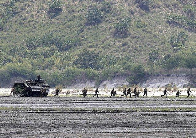 美菲聯合軍事演習