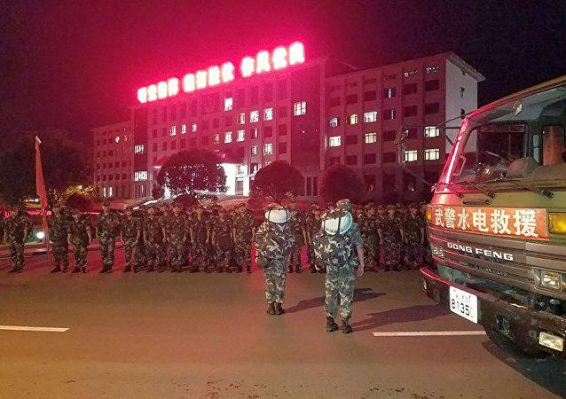 中國警察(2017年8月8日,四川省)