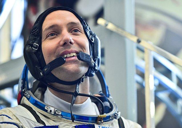 法国宇航员托马斯·佩斯凯