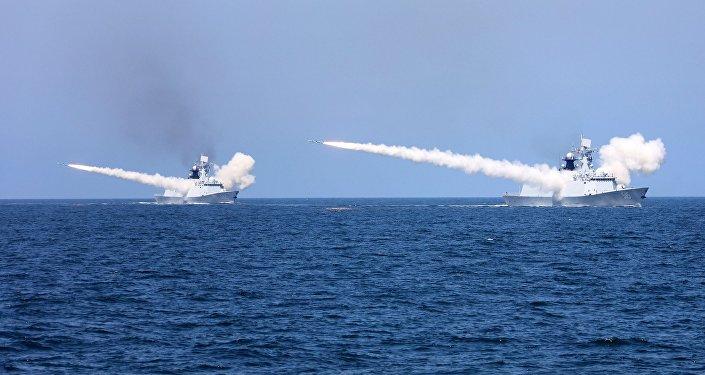 三亞海域軍事訓練提前結束18日台灣海峽實彈演習