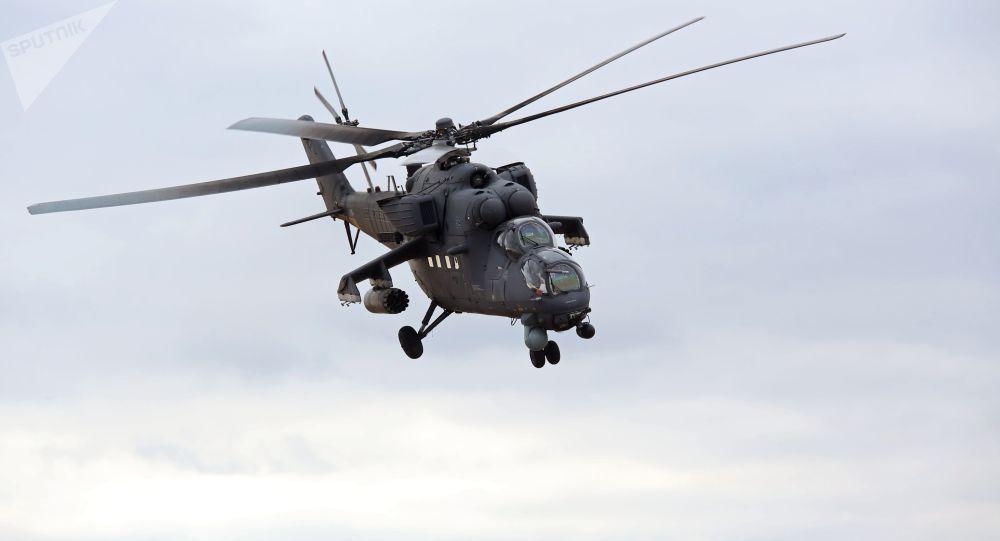 乌兹别克斯坦与俄罗斯签订12架米-35直升机的采购合同