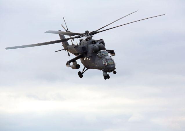 米-35直升機