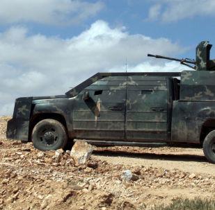 """""""伊斯兰国""""武装分子藏在叙利亚和约旦边境的难民营里"""