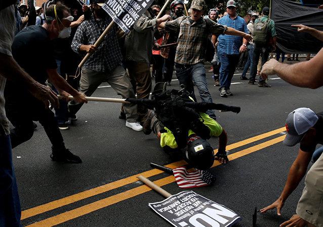 弗吉尼亞州的騷亂