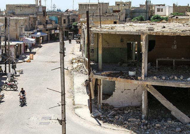 叙霍姆斯省东部居民点已从武装分子手中解放