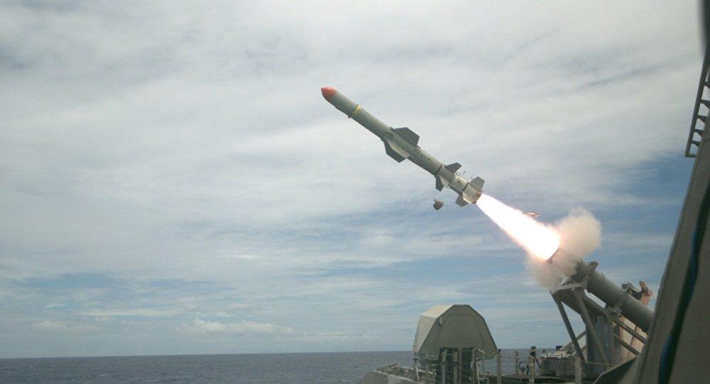 泰国开始同美国举行海上反潜联合演习