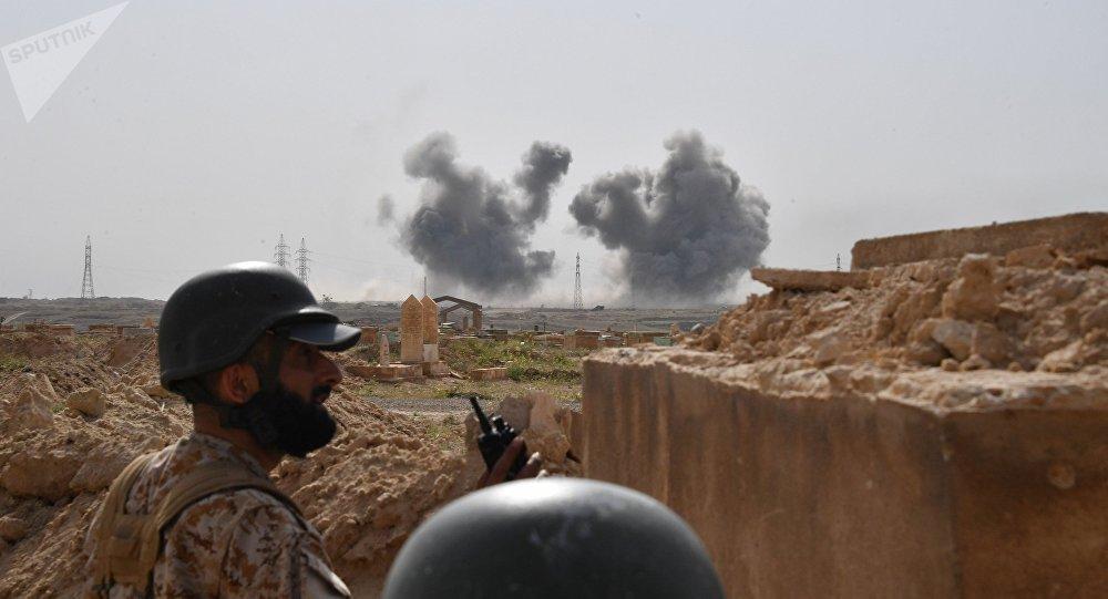 """阿拉伯媒体称""""伊斯兰国""""宣布对大马士革恐袭负责"""