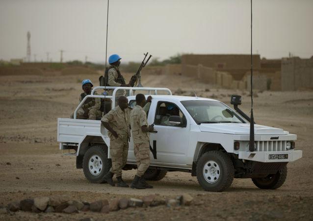 不明身份武裝分子襲擊聯合國中非共和國維和部隊致1死7傷