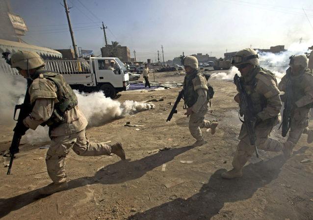 俄国防部称,以美国为首联盟佯装在伊拉克与IS作战